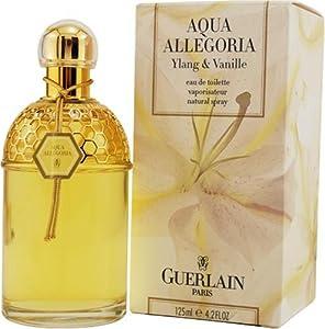 Aqua Allegoria Ylang & Vanille By Guerlain For Women. Eau De Toilette Spray 4.2 Ounces