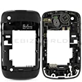 GENUINE BLACK MIDPLATE FOR BLACKBERRY CURVE 3G 9300 CHASSIS/MIDDLE FRAME/HOUSING