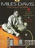 Davis Miles for Solo Guitar 15 Jazz Classics CD