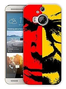 "Humor Gang Heisenberg Face Printed Designer Mobile Back Cover For ""HTC ONE M9 PLUS"" (3D, Matte, Premium Quality Snap On Case)"