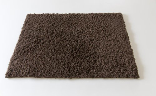 Spaces Spaces Exotica Polyester Large Bath Rug  Medium Brown