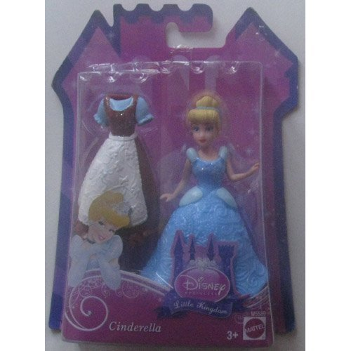 Disney Princess Little Kingdom Cinderella Doll with Dress