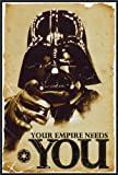 Star Wars Your Empire Needs You 24x36 Poster Thin Profile Framed