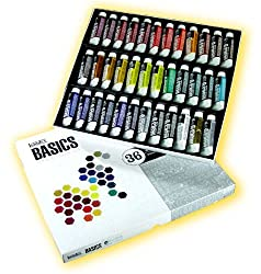 Liquitex Basics Acrylics 22ml Set of 36 Value Series