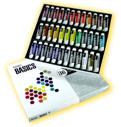 Liquitex Basics Value Series Acrylic Color Sets set of 36
