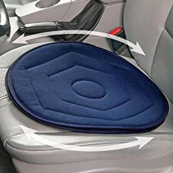Fabric Swivel Seat Cushion - Blue
