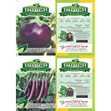 BRINJAL SEEDS COMBO-2 PACKETS (LONG AND ROUND)