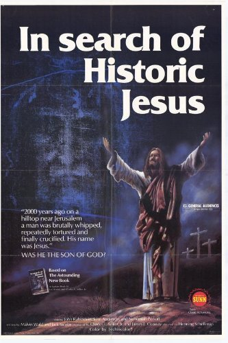 In Search of Historic Jesus Poster 27x40 John Rubinstein John Anderson Nehemiah Persoff