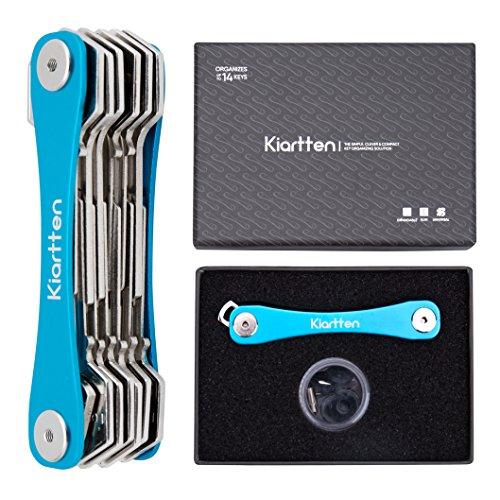support-pour-cles-portable-organiseur-de-kiartten-elimine-les-bombee-poches-peut-contenir-jusqua-14-