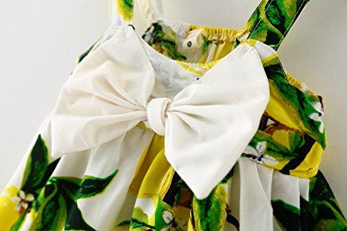 YOMIYOKA Baby Girls 6 Months - 3 Years Princess Dress (6 Months, Yellow)