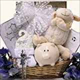 Bless This Baby Boy: Christening/Baptism Gift Basket