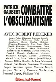 Combattre l'obscurantisme : Avec Robert Redeker par Robert Redeker
