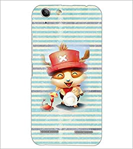 PrintDhaba Cartoon D-4613 Back Case Cover for LENOVO A6020a46 (Multi-Coloured)