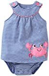 Carter's Baby Girls' Striped Sunsuit…