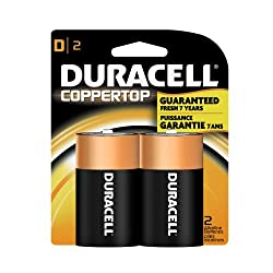 Duracell MN1300B2 - Plus Power D Size 2 Pack from Duracell