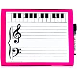 Small Magnet Dry Erase Music Board (9 inches X 12 inches)