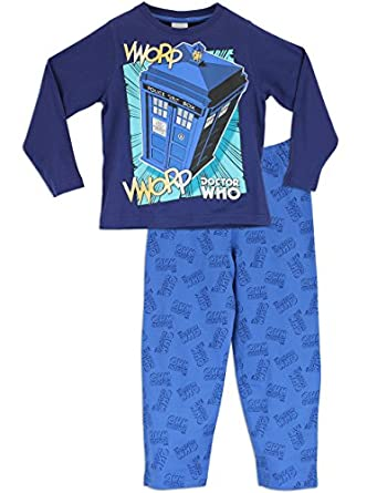 Character Boys Doctor Who Pyjamas Age 5 to 6 Years