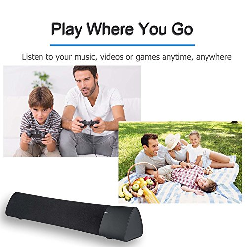 Rotibox Mini Soundbar Portable Wireless Speaker