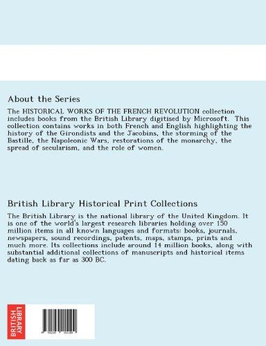 Notices historiques sur la Révolution dans le département de l'Eure