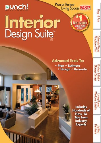 Punch interior design suite v17 software computer software for Interior design computer programs
