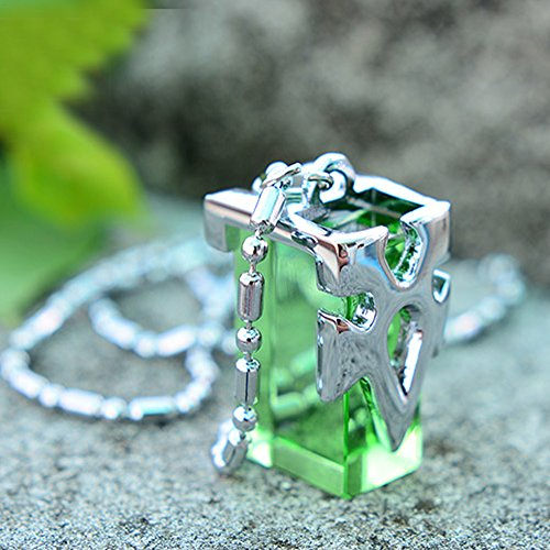 Onecos Sword Art Online SAO Metastasis Crystal Necklace Green