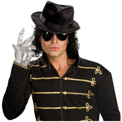 Michael Jackson Fedora Hat Costume Accessory