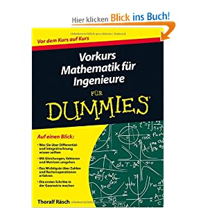 vorkurs mathematik f r ingenieure f r dummies und ber 1 5. Black Bedroom Furniture Sets. Home Design Ideas