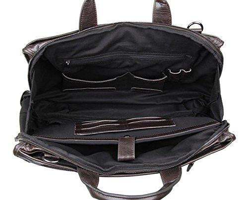 Genda 2Archer En cuir véritable entreprises sac à main porte-documents Vintage Classic pour homme