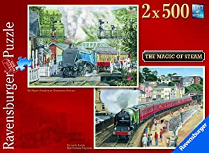 Ravensburger The Magic Of Steam 2 X 500pc Jigsaw Puzzle