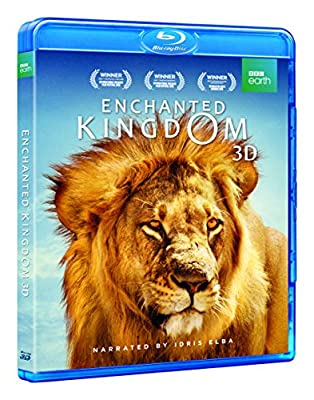 Enchanted Kingdom 3D (BD 3D / BD / DVD) [Blu-ray]