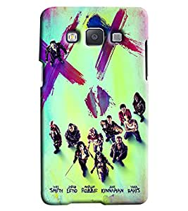 Clarks Printed Designer Back Cover For Samsung Galaxy A3