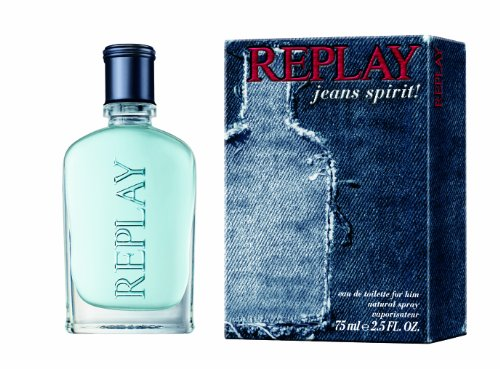 Replay Jeans, Spirit Man, Eau de Toilette da uomo, 75 ml