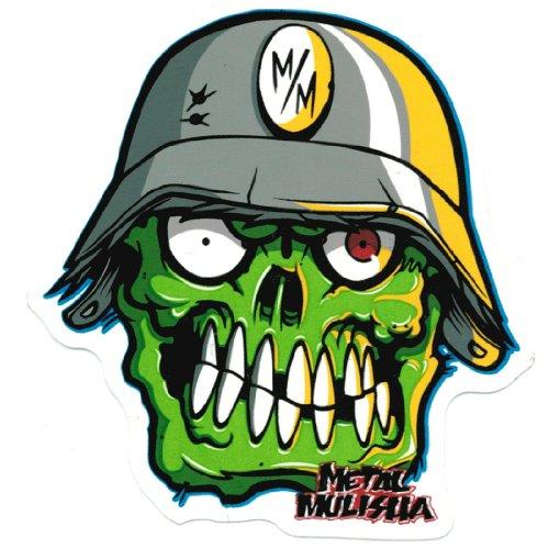 Metal Mulisha - Metal Mulisha Sticker - Eyegore - White - One Size (Metal Mulisha Decals compare prices)