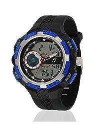 Yepme Mens Digital Watch - Blue/Black -- YPMWATCH3324