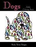 img - for Dogs: Adult Coloring Book book / textbook / text book