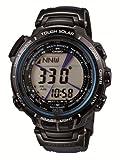 [カシオ]CASIO 腕時計 PROTREK プロトレック MANASULU マナスル レザーバンドモデル デジタル 世界6局電波対応ソーラーウォッチ PRX-2000LC-1JF メンズ