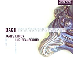 Bach: Sonatas For Violin & Harpsichord Vol. 2