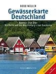 Gew�sserkarte Deutschland Nordost: El...