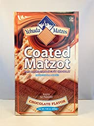 Yehuda Coated Matzot Chocolate Flavor 7.05 Oz.(Pack of 2)