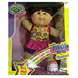 Cabbage Patch Kids Twinkle Toes by Skechers: Danielle Kayla Pink Braces, Brown Hair, Pink Bow and Blue eyes