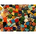 Mosaic Tile Mix. 100 Pack Mixed 10mm vitreous tiles