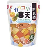 たいまつ食品 カリコリ寒天フルーツ(パウチ) 350g×12個