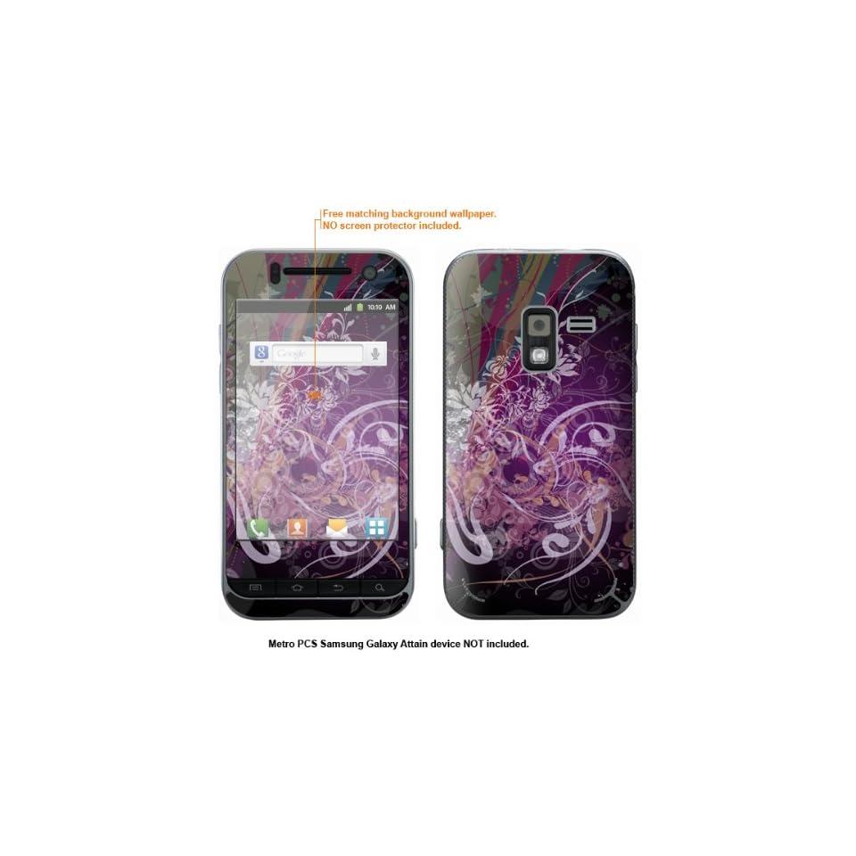 Protective Decal Skin Sticker for Metro PCS Samsung Galaxy Attain 4G case cover Attain 501