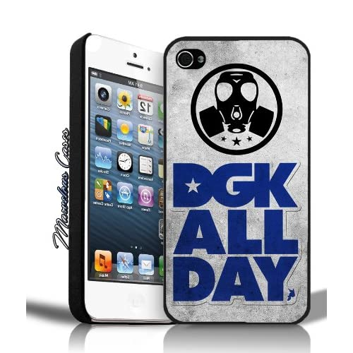 Amazon.com: DGK All Day Logo Grunge (blue) iPhone 5 Case By MC