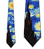 Starry Night Ties Art Vincent van Gogh Neck Ties