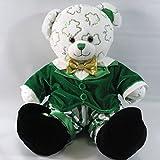 Build A Bear Shamrock Shimmer Teddy Irish Bear Plush in Leprechaun St Patricks Day Costume and Shoes