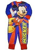 Disney Mickey Mouse Onesie Fleece All In One Pyjamas Sleepsuit