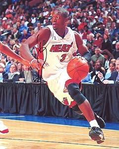 DWYANE WADE signed autographed NBA MIAMI HEAT photo