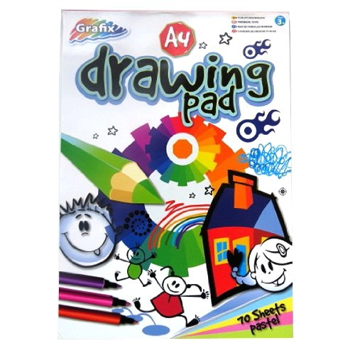 a4-pastel-drawing-pad-70-sheets140-pages-pastel-papers-in-5-colours-size-297mm-x-210mm