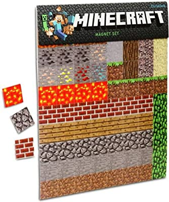 Minecraft Sheet Magnets by ThinkGeek